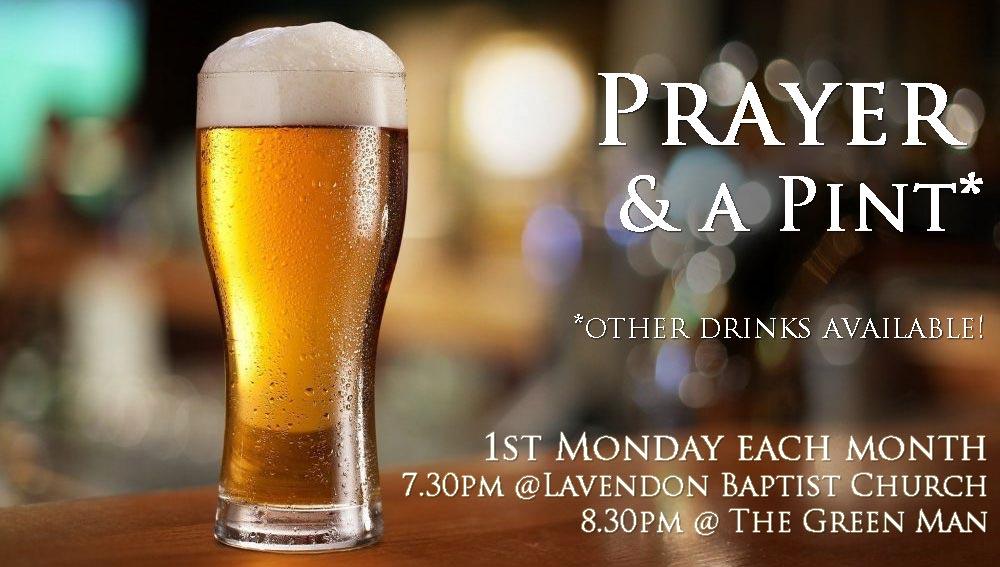 Prayer & A Pint